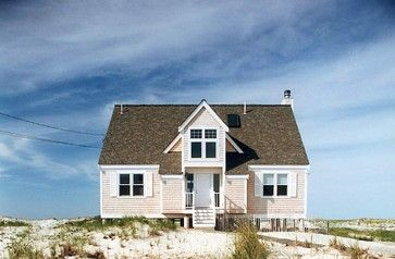 House exterior: pink beach houseBeach House Design, Beach Cottages, Pink House, Beach Style, Traditional Exterior, Tiny Cottages, Cottages Design, House Exterior, Small Cottages