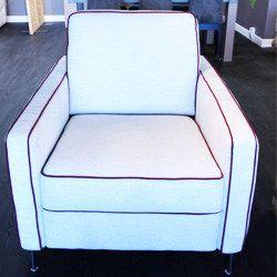 Salon Cervia canapé fauteuil convertible cuir tissu avec ou sans méridienne