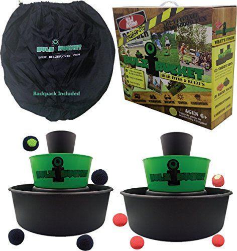 BULZiBUCKET Beach, Tailgate, Camping, & Yard Game Indoor/...