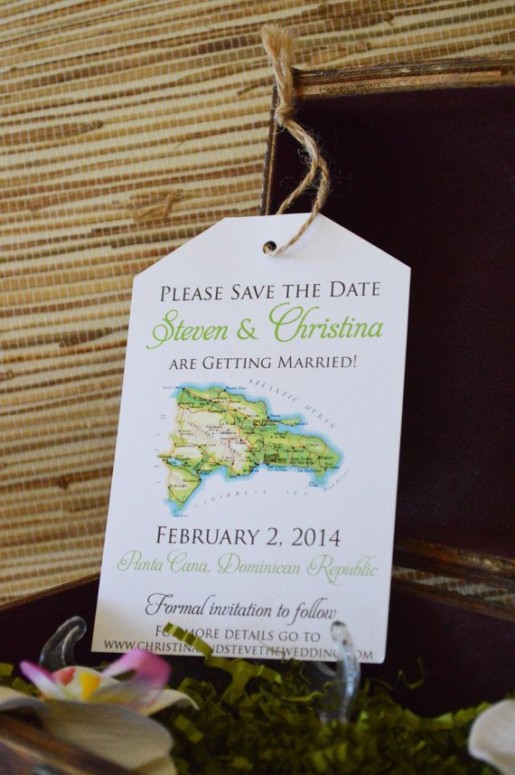 destination wedding save the dates and invitations%0A Destination Wedding Invitation Save the Date Luggage Tag