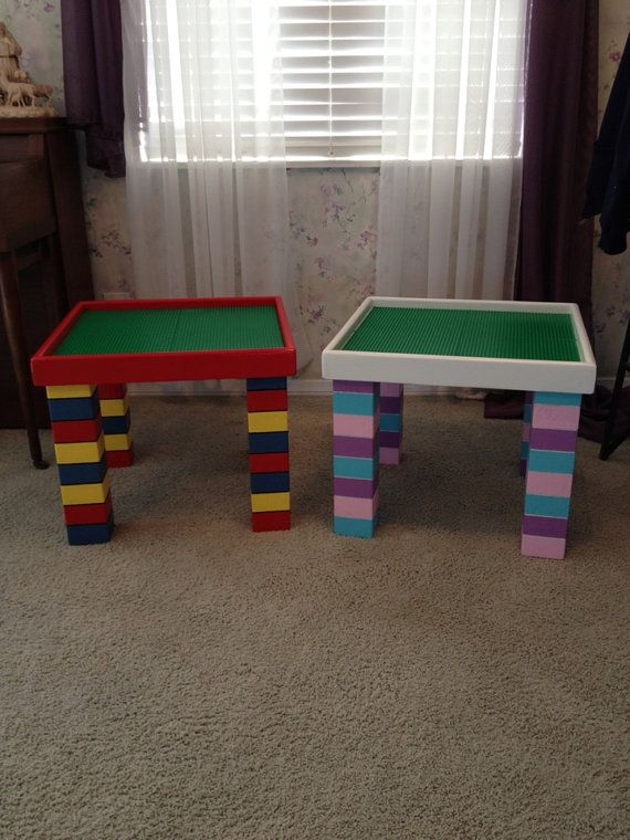 Custom Lego Table...I Think I Have Enough Scrap Wood To Make Something
