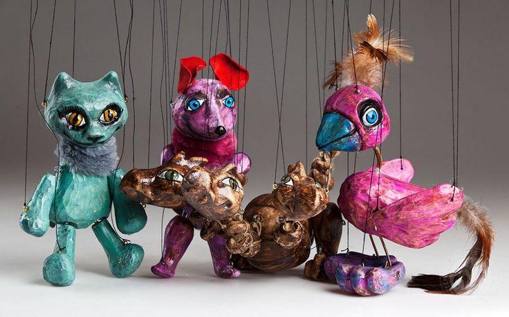 foto: Animal Circus Marionettes