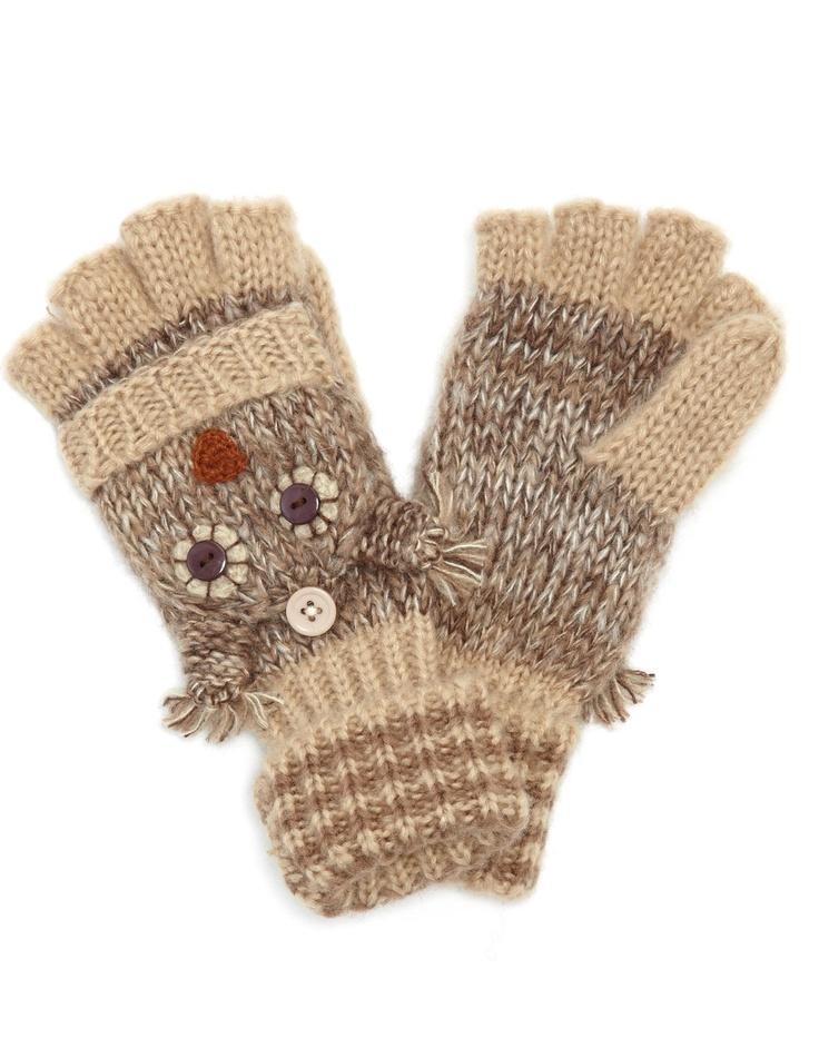 cute owl gloves
