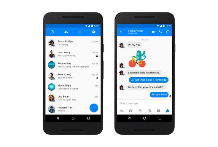 Facebook Messenger is getting a major design refresh on Android. Head of Messenger David Marcus took to social media today to announce the new look, which