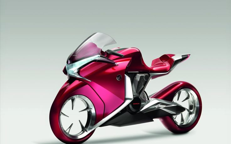 picture of Honda V4 Concept Widescreen Bike ~ HD Pictures