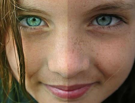 Como eliminar manchas de piel en la cara - Usa extracto de regaliz, que contiene glabridina, componente que actúa como un blanqueador natural de la piel. Aplica una capa fina por la mañana después de lavar tu rostro y antes de hidratarlo. Haz un pequeño test primero en la parte de atrás de tu brazo, antes de pasarlo en tu rostro, para ver si no tienes alguna reacción alérgica a esta planta. Conoce nuestros tips para aclarar la piel.