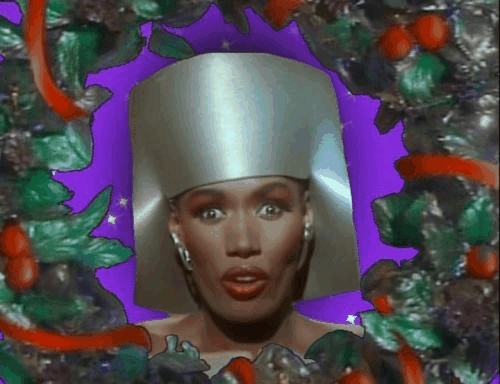 Not Mohawk Storm, but might as well be.Grace Jones, Playhouses Christmas, Wee Playhouses, Mohawks Storms