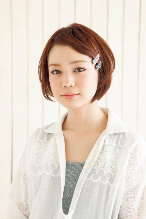 ショートヘアを可愛くパッチンピンでアレンジ②前髪のアレンジ-1