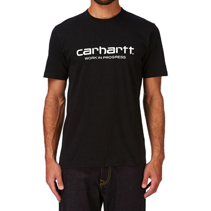 Carhartt T-shirts - Carhartt Wip Script T-shirt - Black/white