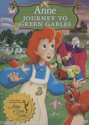 Anne of Green Gables Journey to Gables animated story DVD.