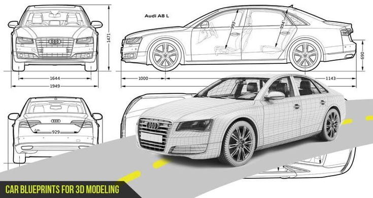Car Blueprints: In this post we have added someMost Loved Car HD Blueprints to create 3d models with powerful 3D softwares tools like Maya, 3DsMax, Softimage, Cinema 4D and other 3D softwares tools and plugins.    Also