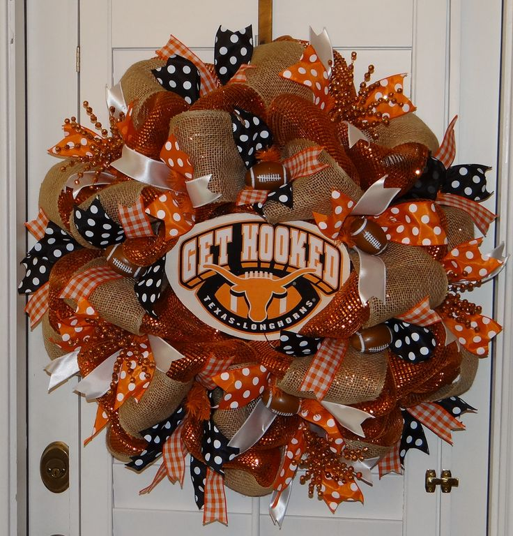 University of Texas UT Longhorns Deco Mesh