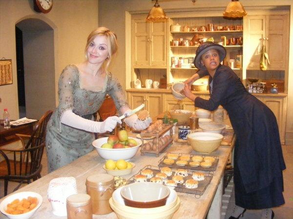 DA kitchen  Downton Abbey Kitchen  Open kitchen New