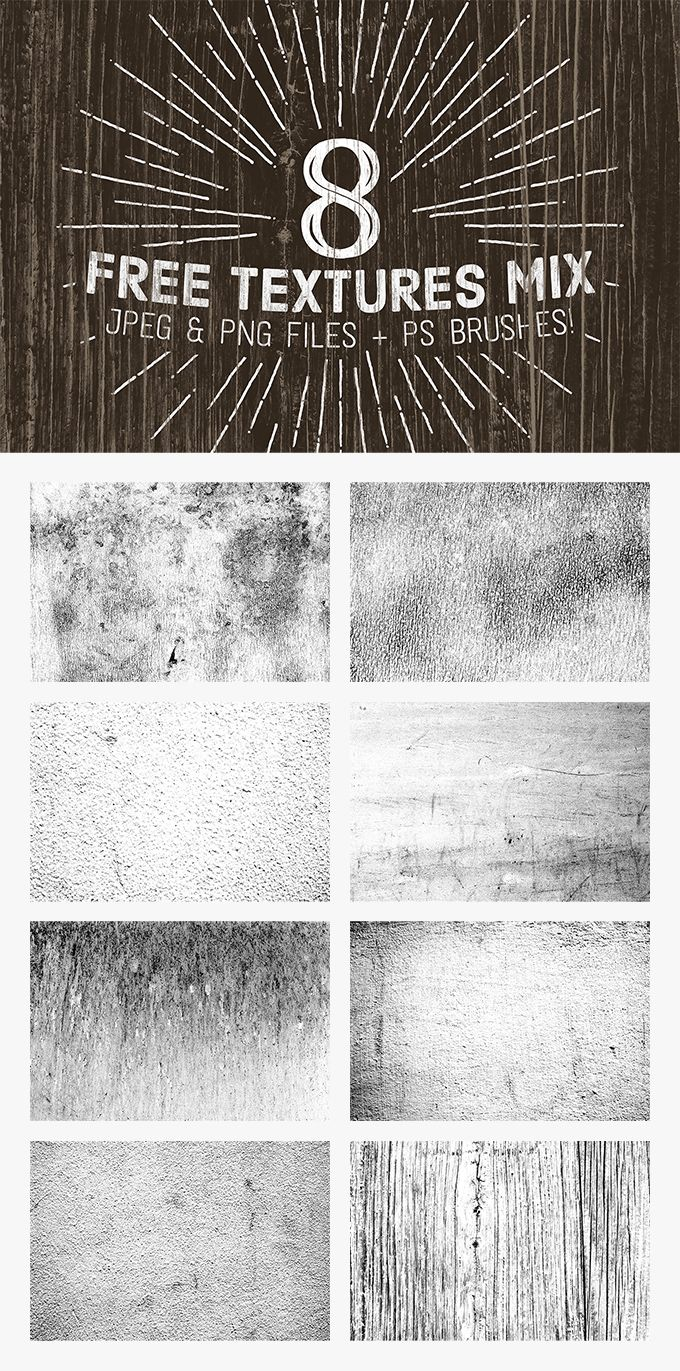 Free 8 High Resolution Texture Mix (150 MB) | Abr, PNG, JPG files | pixelbuddha.net