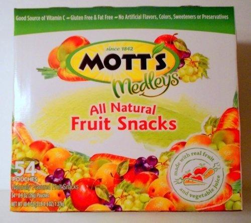 Mott's Medleys All Natural Fruit Snacks by Mott's, YAY!: Fruit Snacks, Natural Fruit