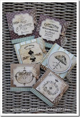 Lovely Stefania's creations with my Shabby Chic Labels! http://stecreazioni.blogspot.it/