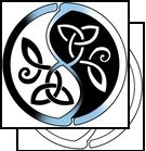 A Celtic Ying-Yang tattoo!! OMFG IT's BRILLIANT!!! I think I may have to incorporate this into my next tat!!!