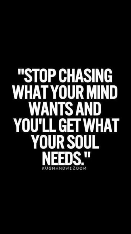 So accurate! When I stopped chasing what I thought I needed, God put what I truly needed right in front of me.