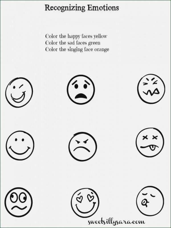 Feelings And Emotions Worksheets Emotions Preschool Feelings Preschool Feelings Activities