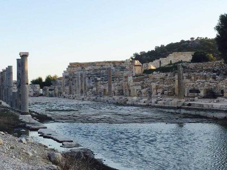 Incredible ruins of ancient city #Patara - just 80 km from #Fethiye
