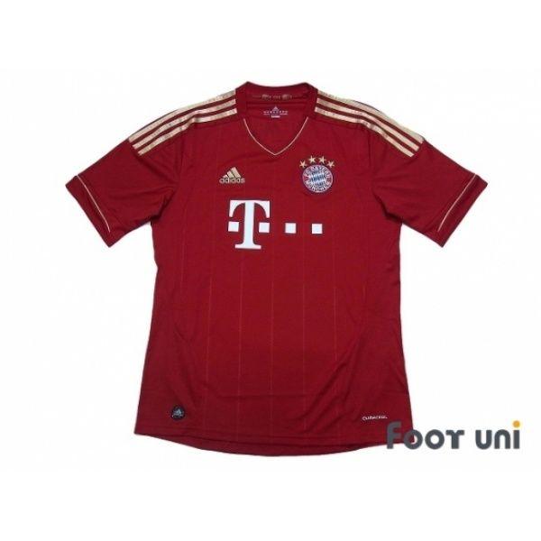 Photo1: Bayern Munich 2011-2013 Home Shirt adidas - Football Shirts,Soccer Jerseys,Vintage Classic Retro - Online Store From Footuni Japan