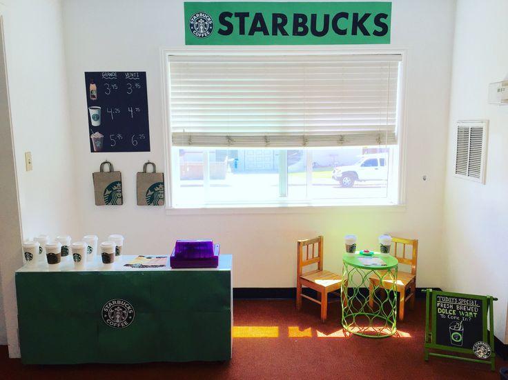 Starbucks Dramatic Play