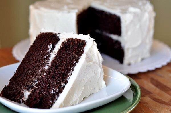 This unbelievable chocolate cake is so moist but still has a perfectly light and tender cake crumb, and it has the perfect balance of sweet and rich chocolate.