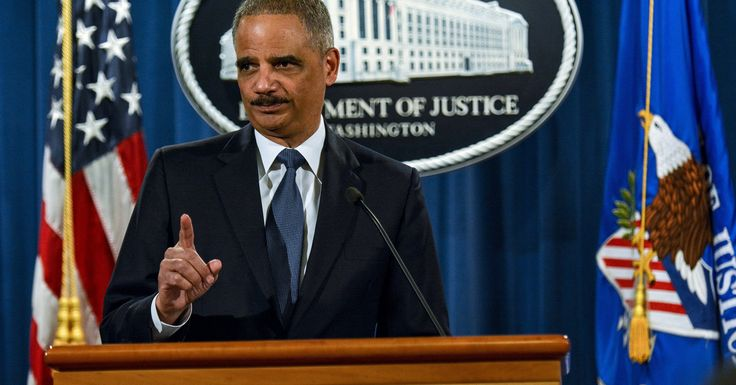 Eric Holder Rips Republicans For Trying To Make It More Difficult To Vote