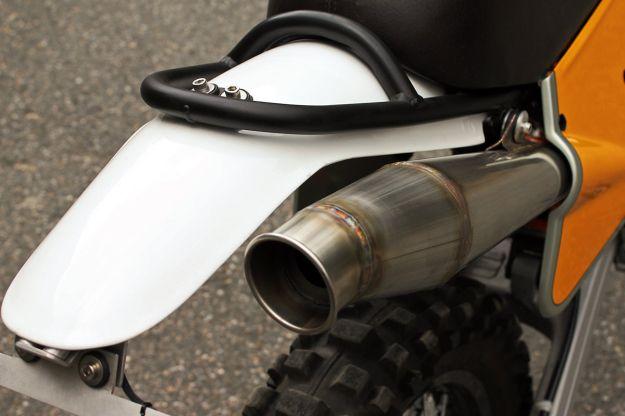 KTM 450 EXC custom motorcycle by Walt Siegl