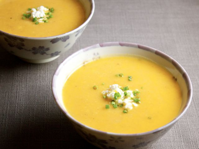 The cure for April showers? Ecuador's classic potato and cheese soup