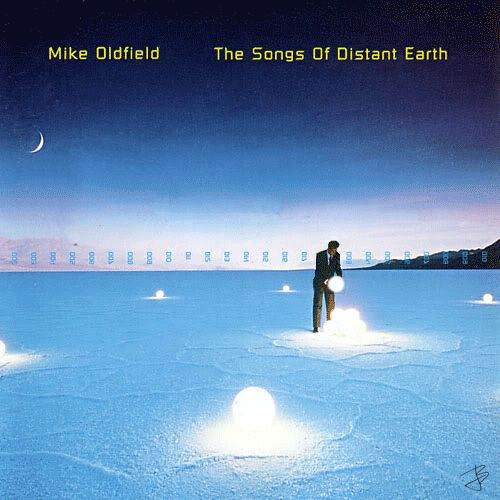 Mike Oldfield - The Songs of Distant Earth - 1994 Original album cover . Requested by my mom