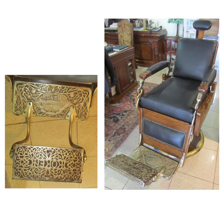 KOKEN Vintage Barber Chair