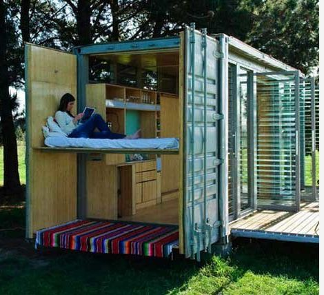 Amazing homes and offices built from shipping containers, tech newsOutdoor  office oasis, eco office, modern | Fun Things | Pinterest | Oasis, ...