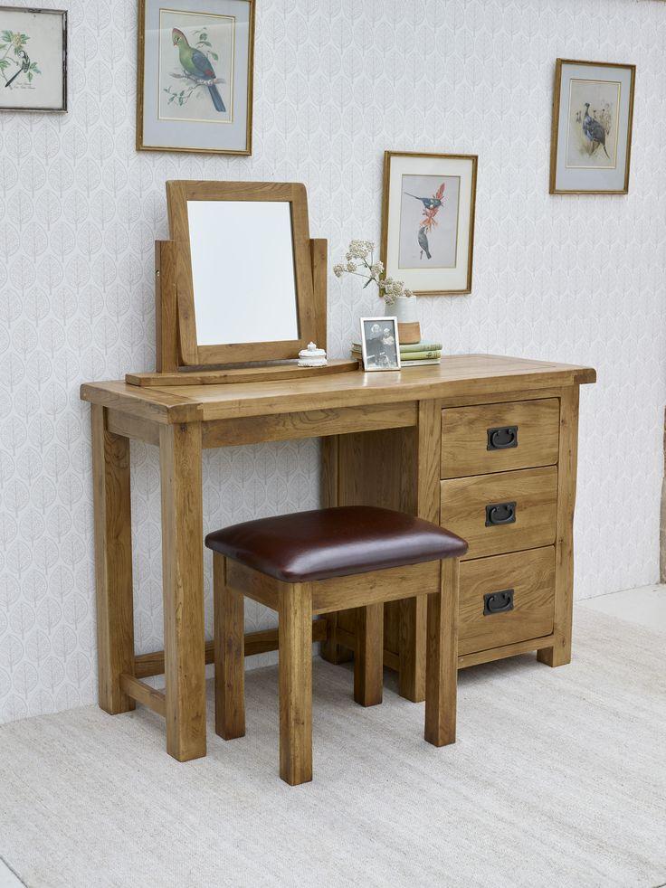 Best Drawer Dressing Tables Ideas On Pinterest Dressing - Rustic oak dressing table