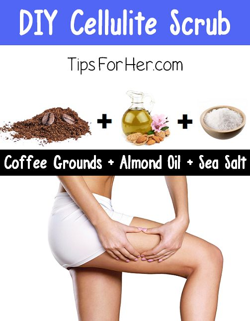 DIY Cellulite Scrub Quick and easy scrub that works great for cellulite and loose skin. Improves circulation, tightens and firms. Reduce the appearance of cellulite in just a few simple steps. What...