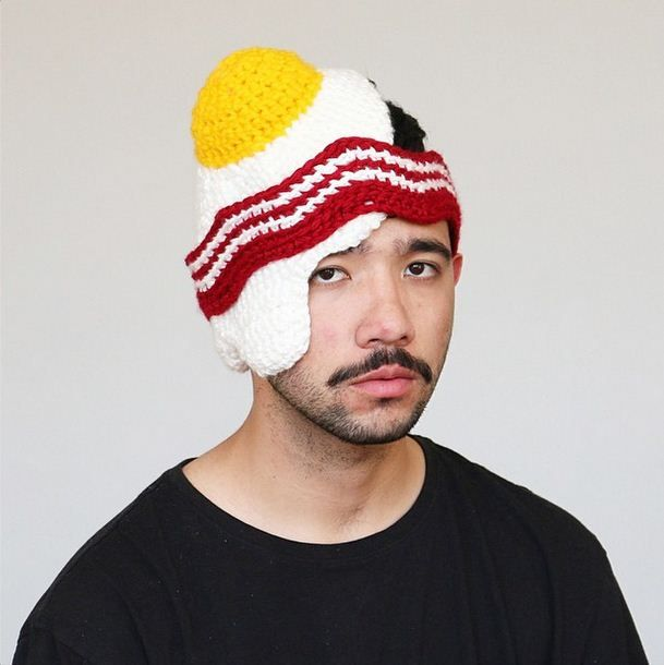 Instagram page dedicated to #crochet food hats