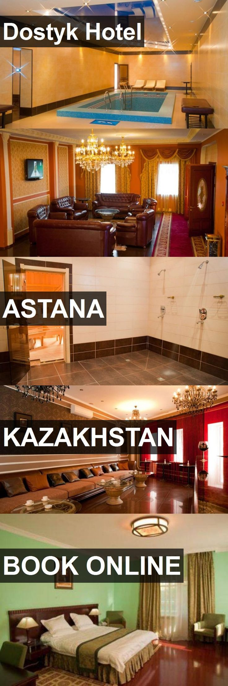 Hotel Dostyk Hotel in Astana, Kazakhstan. For more information, photos, reviews and best prices please follow the link. #Kazakhstan #Astana #DostykHotel #hotel #travel #vacation