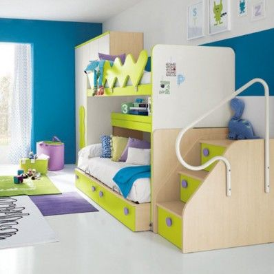 Modern Bunk Beds  #Kids will love the #modern #bunk #beds. #Belvisi #Furniture offer the wide variety of #modern #bunk #beds for sale and single beds, #wardrobes and more! Visit us today!