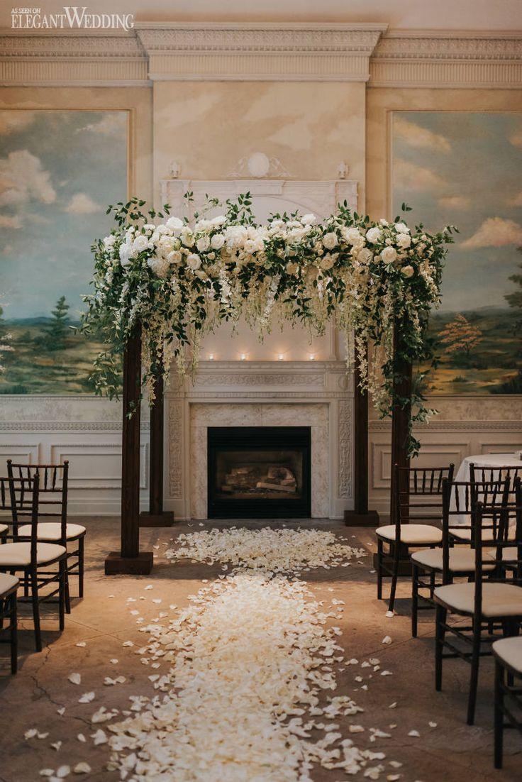 Enchanted Garden Wedding Filled with Romance | ElegantWedding.ca