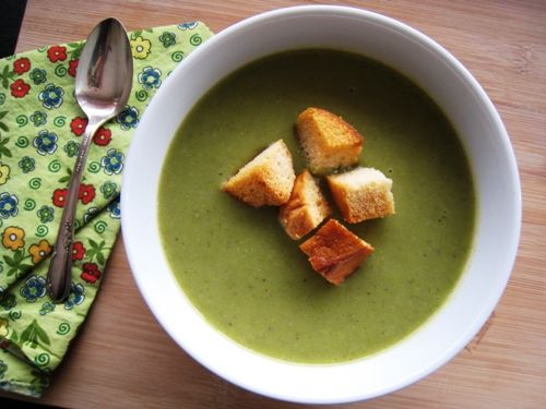 Spring Produce Asparagus Soup