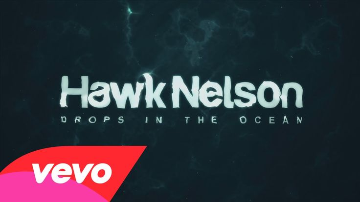 A new song from Hawk Nelson. Wow, please watch and listen, this is a song that really has a meaning that a lot of people need to hear! Hawk Nelson - Drops In the Ocean (Official Lyric Video)