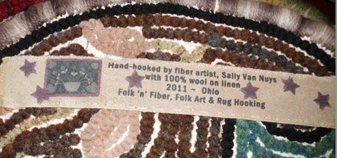 customized rug labels