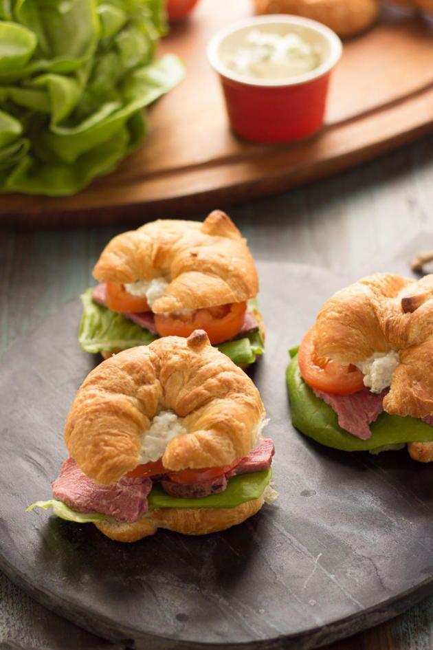 roast beef croissant sandwiches beef croissant croissant sandwiches ...