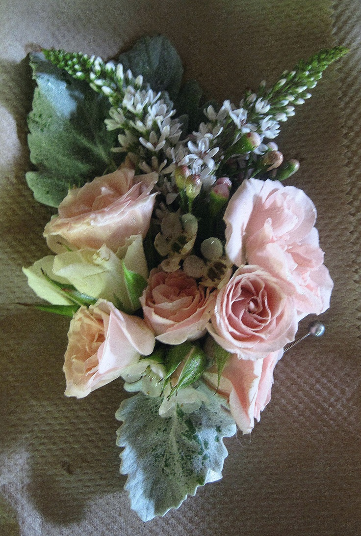 80 best corsages and handbag sprays images on pinterest for Flower sprays for weddings