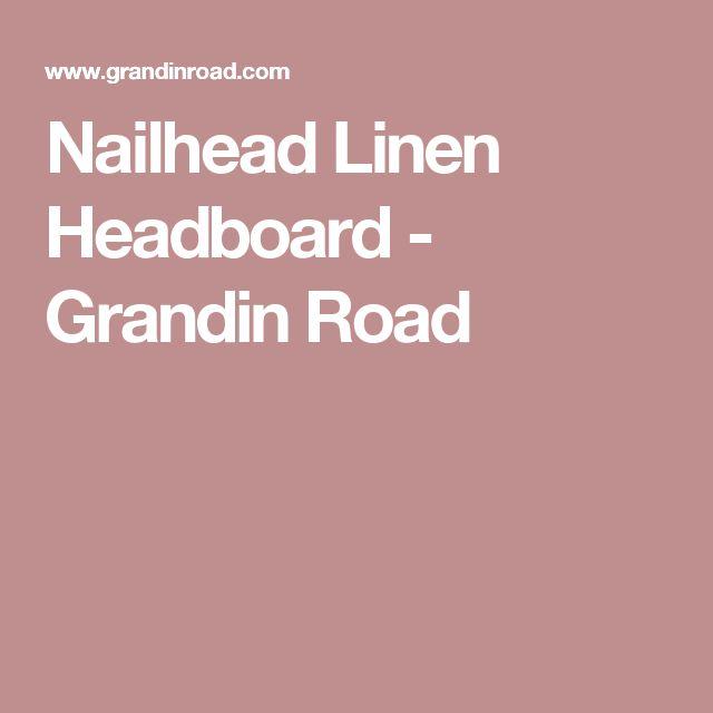 1000 Ideas About Linen Headboard On Pinterest