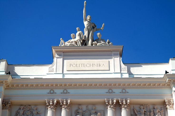 Politechnika Warszawska - Gmach Główny (pl. Politechniki 1, Warszawa) Warsaw University of Technology - Main Building (1 Politechniki Sq, Warsaw) #warsawuniversityoftechnology #warszawa #politechnika #politechnikawarszawska #pw #studia