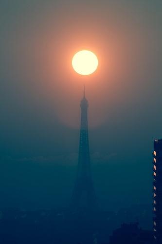 winter sun rise