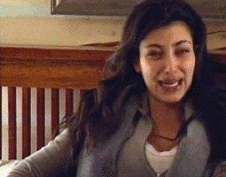 "I got ""Everyone is ganging up on me"" cry face! Which Kim Kardashian Cry Face Are You?"