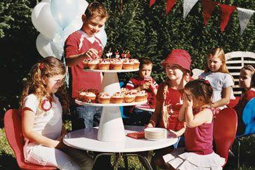 kids party menu plan