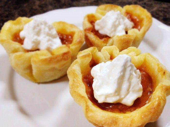 Mini-Pumpkin-Pies | Yummy | Pinterest
